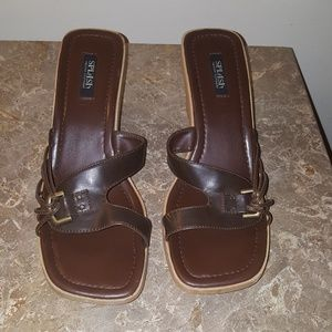 Ladies size 10 Brown Splash sandal